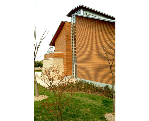 Timbeck external cladding with sustainable cedar products for Sustainable exterior cladding materials