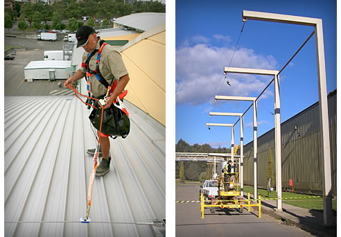 Fall Arrest Amp Restraint Systems Kerrect Group