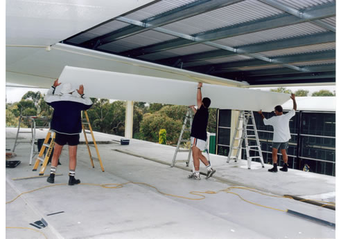 Insulated Ceiling Panels For New Builds Or Retrofit