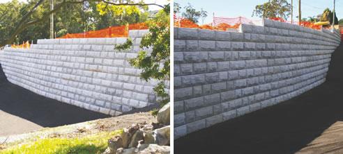 Interlocking Block Retaining Wall System Concrib