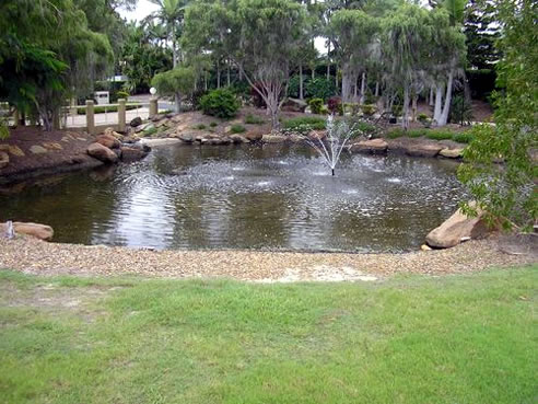 Pond liners fabric solutions australia yatala qld 4207 for Ornamental pond liners