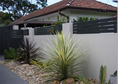 Decorative Front Boundary Walls Modular Wall Systems