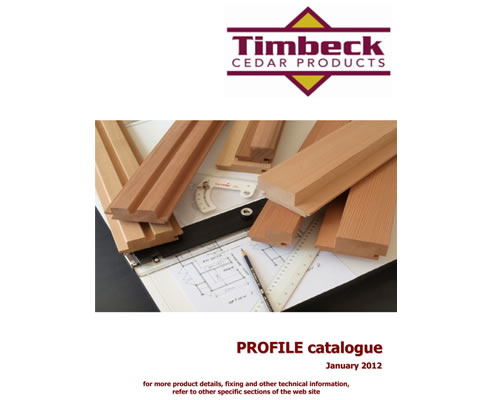 timbeck profile catalogue