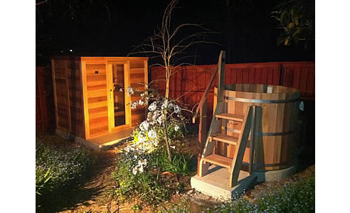 Log Sauna And Hot Tub Ukko Saunas St Marys Nsw 2760