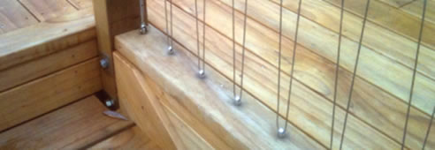 Stainless Steel Wire Balustrades And Handrails Anzor