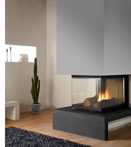 chazelles australia triple sided fireplace d1000 epi