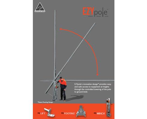 Lowerable Light Pole Ezypole Leadsun