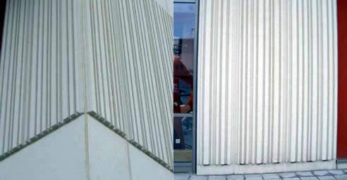 Decorative Concrete Facades Barcode Design Reckli