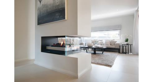 Double Sided Gas Fireplace Melbourne | Real Flame. Our