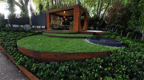Perfect Rust Look Steel Garden Edging From Formboss