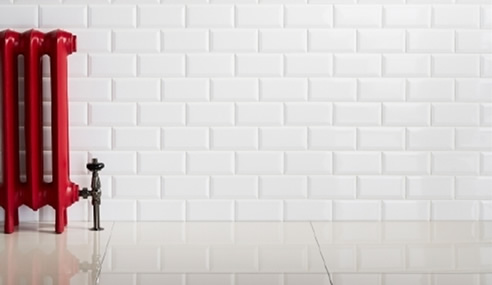 White Subway Indoor Ceramic Tiles