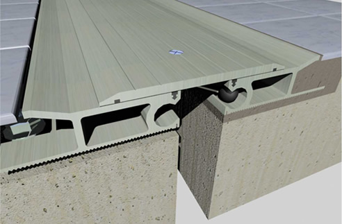Heavy Duty Floor Expansion Joint Cover