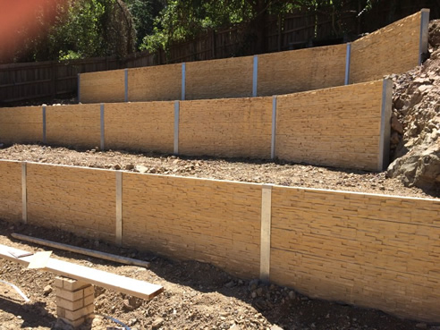 Stack Stone Look Concrete Sleepers Outback Sleepers