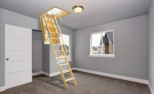 Pull down attic ladders from Attic Ladders