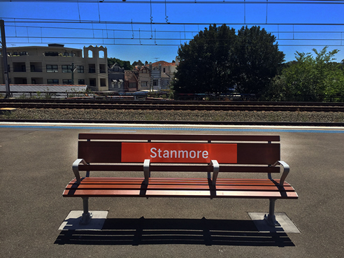 Train Signage Stanmore