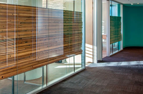 found timber Office Privacy Screens