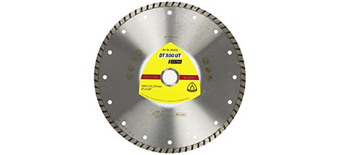 Turbo Continuous rim diamond blade
