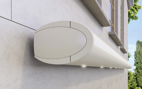 Opal II LED retractable awning