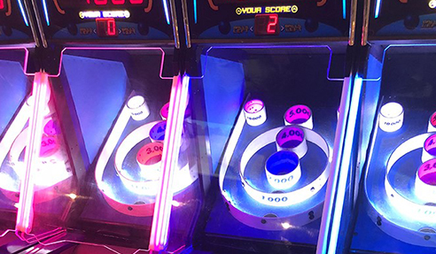 Clear Polycarbonate Safety Screens for Arcades