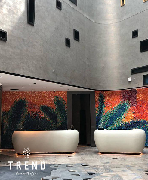 Exclusive Mosaic Tiles for W Dubai