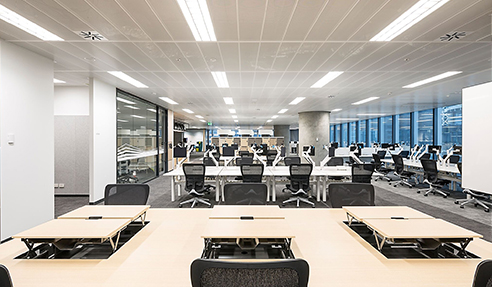 Human-Centric LED Troffer at International Towers Barangaroo Sydney