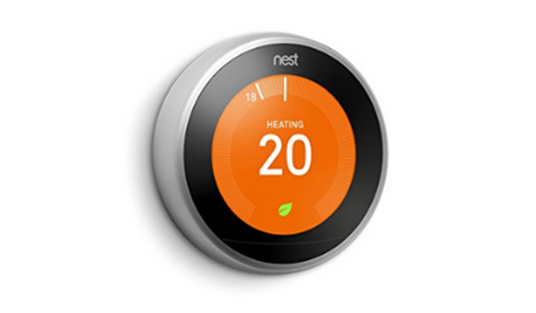 Hydronic Heating System: Nest Learning Thermostat