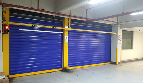 PVC Fast Action Roller Shutter Doors from DMF