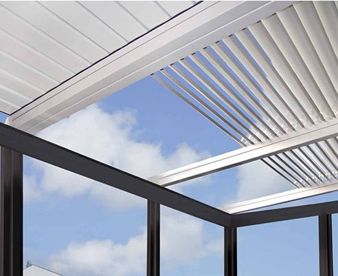Retractable Roof for Outdoor Spaces