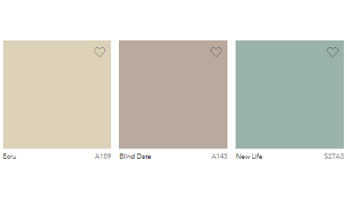 Seasonal Paint Trends - Summer Soft Tone