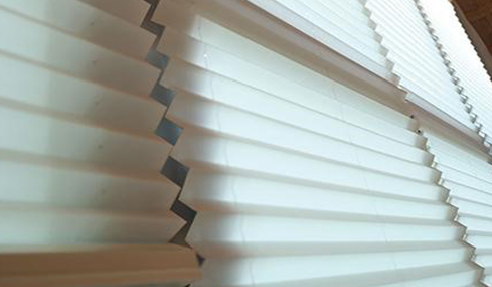 Smart Pleated Blinds from Blinds by Peter Meyer