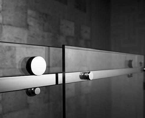 sophisticated frameless glass showers melbourne from fgs