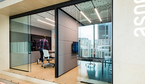 T-Pod Composite Partitioning New from Aspect Furniture Systems