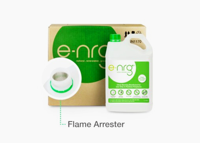 Clean Burning Fireplace Fuel from EcoSmart Fire