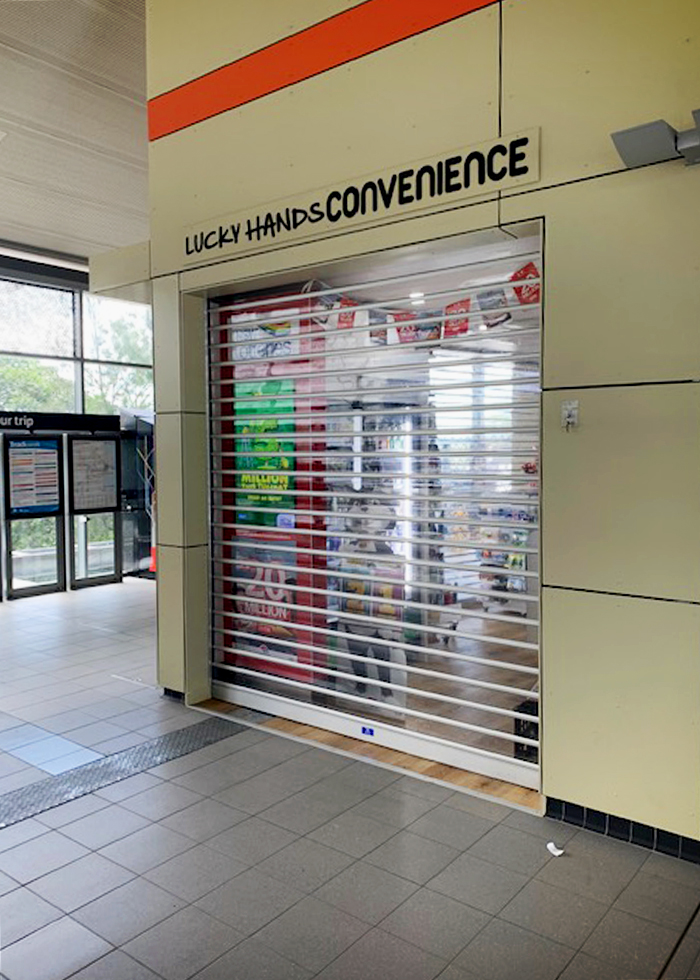 Clear Roller Shutters for Retail from Trellis Door Co