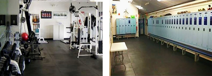 Heavy Duty Gym Fitness Tiles from Sherwood Enterprises