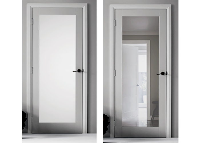 Moda 1 Primed Door Collection at Hazelwood & Hill