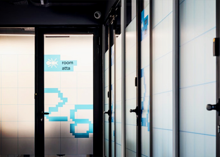 Frosted Glass Doors for Offices from Wilkins Windows