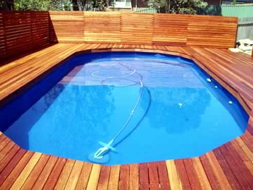 Hardwood decks pergolas are the speciality of bransons building materials - Suitable materials for decking ...