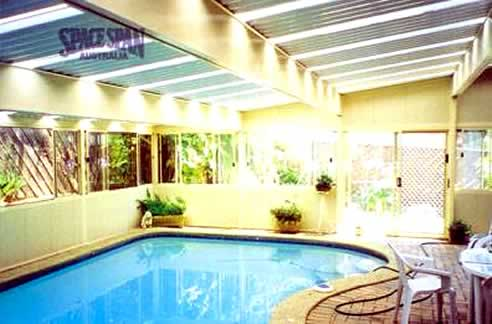 Spacespan Pool Enclosures Swim All Year Round