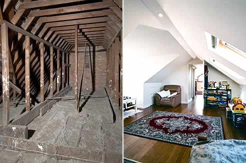 Attic Ladders Transform Your Roof Space Into Living Space