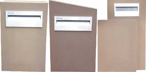 letter boxes. Poly-Tek Letterboxes are
