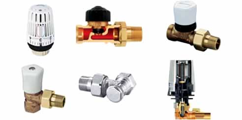 Hunt heating valves including heimeier for Heimeier italia