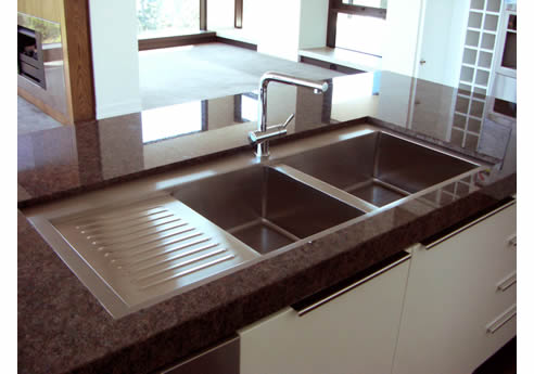 Sunken Kitchen Sink