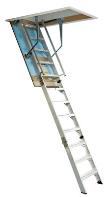 12 Foot Commercial Attic Ladder From Kimberley Products
