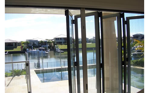 Bi Fold Door Insect Screen From National Screens