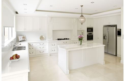 French Provincial Modern Style Kitchen Design From Wonderful Kitchens