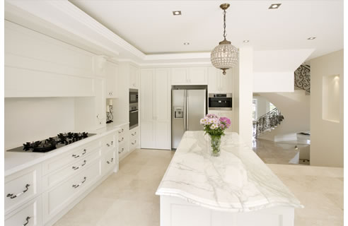French Provincial Modern Style Kitchen Design From