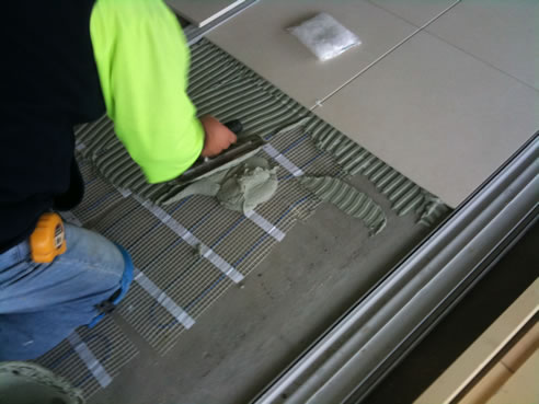 Energy Efficient Thin Under Tile Floor Heating Amuheat