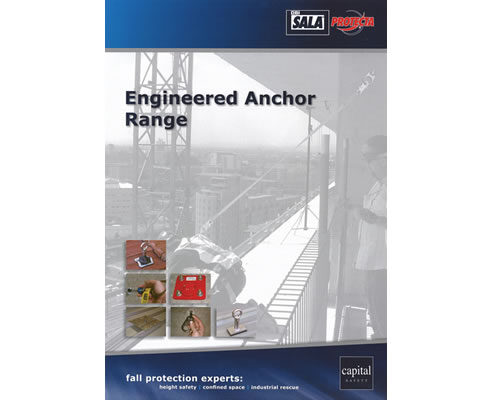 Engineered Fall Protection Anchor Range Brochure Capital