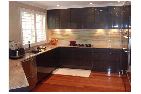 Splashbacks, Moondani Glass Milperra NSW 2214